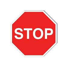 Panneaux routiers à imprimer