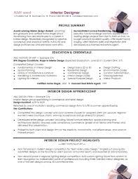 Resume Sample Interior Designer by Interior Design Resume Templates Free Resume Example And Writing