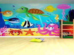 Preschool Classroom Floor Plans Ocean Themed Bathroom Decor Preschool Classroom Wall Murals Ideas