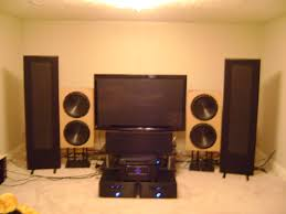 best home theater speaker setup magnepan u0026 rythmik audio home theater the beginning of the end