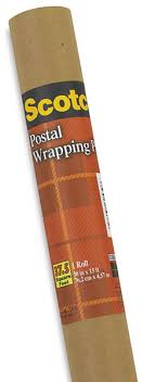 scotch postal wrapping paper blick materials