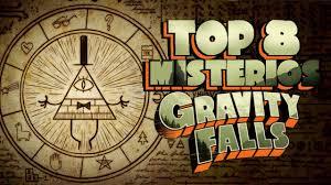gravity falls top 8 misterios sin resolver de gravity falls youtube