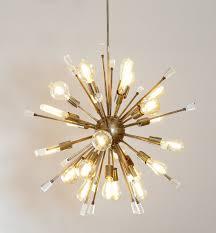Chandelier Acrylic Italian Starburst Modernist Sputnik Chandelier Acrylic Crystals