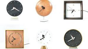 Modern Desk Clock Best Mid Century Modern Desk Clock Gallery Liltigertoo