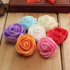 Car Decoration For Valentine S Day 10pcs mini pe foam rose artificial flowers for wedding car