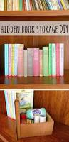 teen diy projects for girls hidden book book storage and fun diy