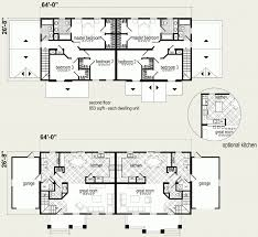 multi family dwelling unit floor plan