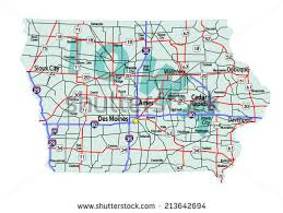 road map of iowa usa iowa map iowa counties road map usa des moines map map of des