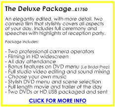 Wedding Videography Prices Wedding Videographers Finest Wedding Videos Filming And Editing