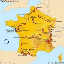 Bordeaux France Map by 1988 Tour De France Wikipedia