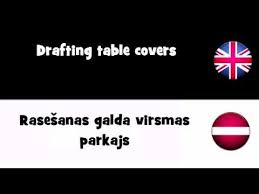 Drafting Table Cover Translate In 20 Languages U003d Drafting Table Covers Youtube
