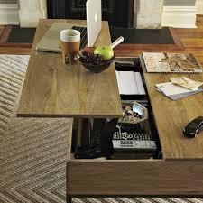 west elm industrial storage coffee table raw wood coffee table west elm best table decoration