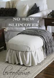 How To Change A Duvet Cover Best 25 No Sew Slipcover Ideas On Pinterest Couch Cushion