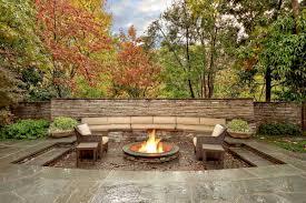 Backyard Fireplace Ideas Decor Tips Garden Ideas With Outdoor Fireplace Ideas And Wicker