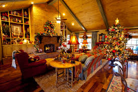 beautiful homes decorated for christmas ready decorated christmas tree christmas lights decoration