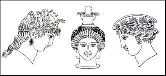information on egyptain hairstlyes for and ancient greek costume history pictures showing how to recreate a