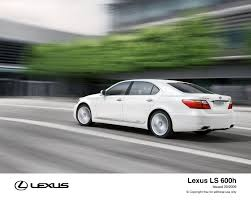 lexus uk media lexus reveals the 2010 ls 600h lexus uk media site