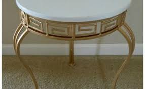 Painted Accent Table Metal Tables In Painted Furniture Hometalk