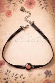 rose choker necklace images 40s i love my rose choker necklace jpg