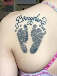 best 25 baby footprint tattoo ideas on pinterest baby tattoos