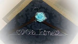 Wedding Journal Personalized Mr U0026 Mrs Bridal Hangers Bridesmaid Hangers By Thy