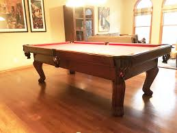 pool table movers chicago brunswick billiards chateau 8 pool table sold used pool tables