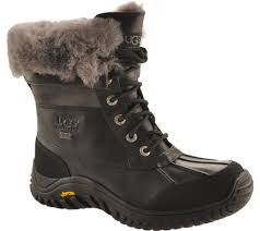 ugg s adirondack boot ii black grey womens ugg adirondack boot ii free shipping exchanges