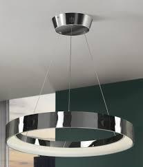led suspended ceiling lighting uber modern single circle led pendant