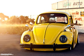 used yellow volkswagen beetle for cola bug http www stancenation com 2013 05 06 a bug named flip