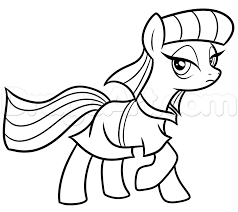 8 how to draw maud pie