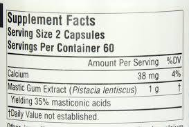 Mediterranean Kitchen Mastic Amazon Com Source Naturals Mastic Gum Extract For Stomach