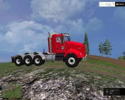 kenworth t800 kenworth t800 v1 truck farming simulator 2017 2015 15 17