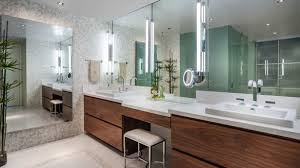 Flat Bathroom Mirrors How To Frame Out That Builder Basic Bathroom Mirror For 20 Or In