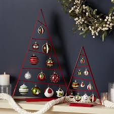 a frame ornament trees with set of ornaments crate and
