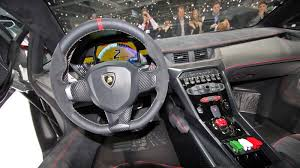 this is the lamborghini veneno s interior
