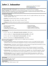 security specialist resume sample information security resume