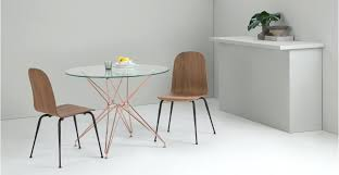 walmart round dining table round dining table a dining table in glass and copper dining table