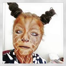 Zebra Halloween Makeup by Animal Halloween Makeup Ideas Halloween Makeup Giraffe And Makeup