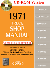 1971 ford truck shop manual ford motor company david e leblanc