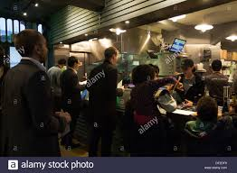 Family Restaurants In Covent Garden Shake Shack Burger Restaurant Covent Garden London Stock Photo
