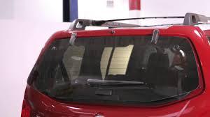 nissan armada rear 2012 nissan pathfinder rear glass hatch youtube