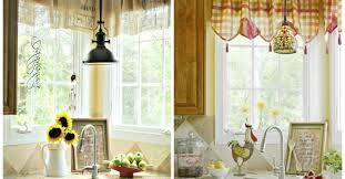 curtains graceful french country kitchen curtains pinterest