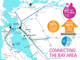 Bart Map Oakland by San Leandro Sltc