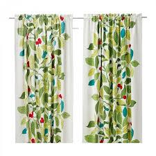 Ikea Leaf Curtains Keeping Heat In Decorate The House With Beautiful Curtains