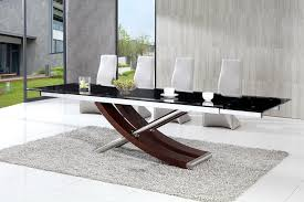 Modern Dining Table Set - Contemporary glass dining table and chairs