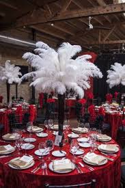 roaring 20s centerpieces perfect for a great gatsby birthday