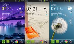 best clock widget for android best android clock and weather widgets november 2013 aw center