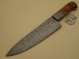 made kitchen knives damascus ulu kitchen knife custom handmade damascus