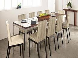 Modern Dining Room Table With Bench Charming Long Thin Dining Room Table 55 On Modern Dining Room