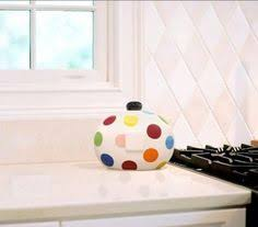 happy everything cookie jar coton colors happy everything big cookie jar neutral www